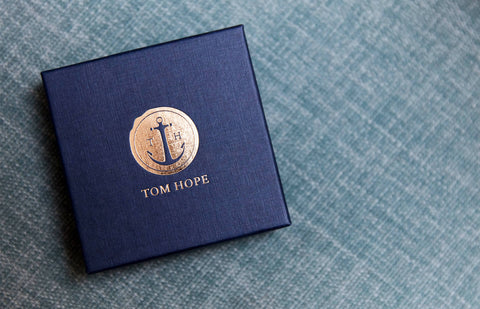 Tom Hope packaging box