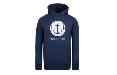 Tom Hope Hoodie Blue 1