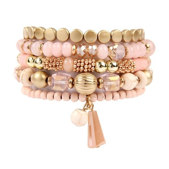 Angela 5pc Bracelet Set