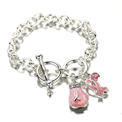 Pink Ribbon Fighter Bracelet