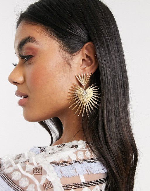 Radiate Drop Earrings