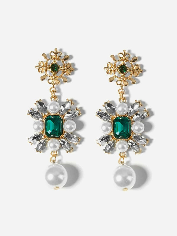 Millie Pearl Drop Earrings