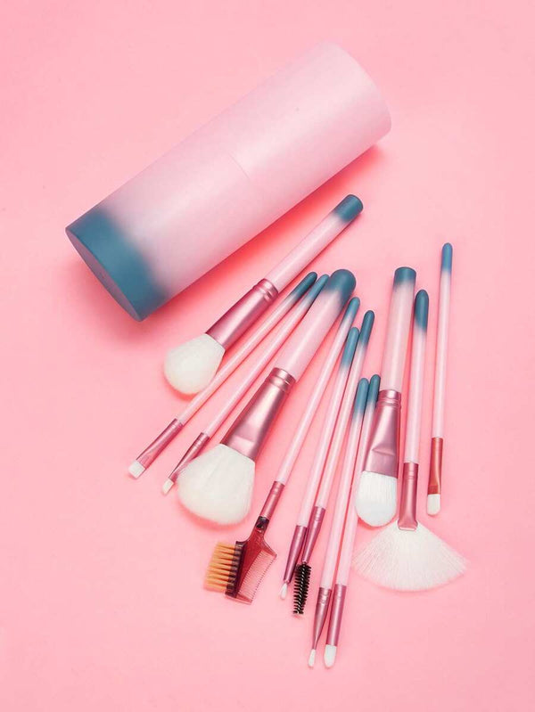 Ombre Makeup Brush Kit