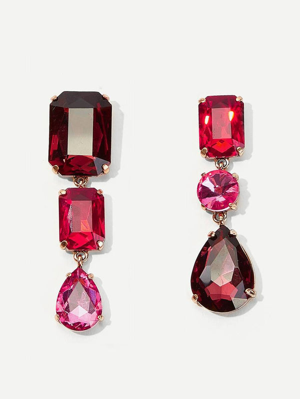 Kiara Mix-Matched Drop Earrings