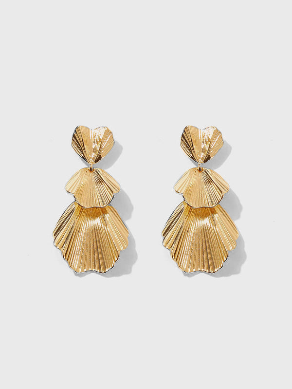 Lunette Layered Earrings