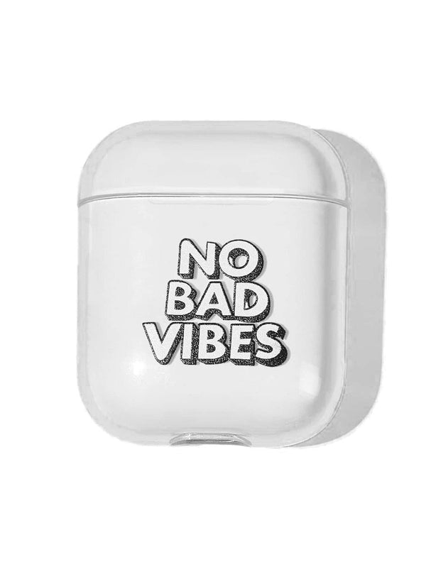 No Bad Vibes Airpods Case