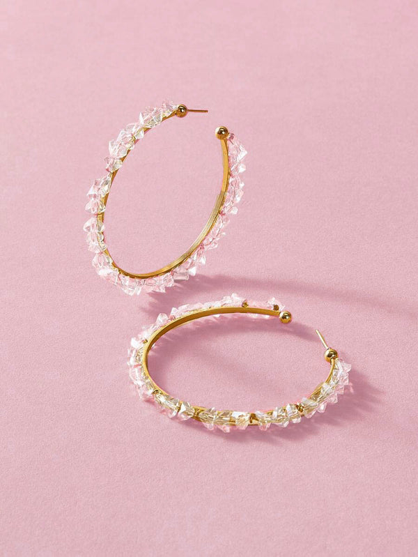 Shima Hoop Earrings