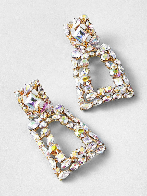 Lindsey Rhinestone Earrings