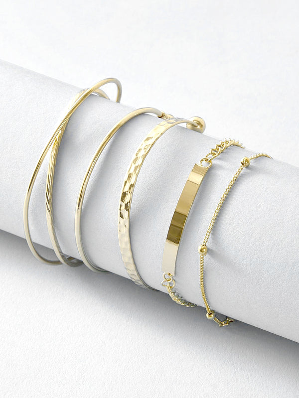 Rachel 5 pc Bangle Set
