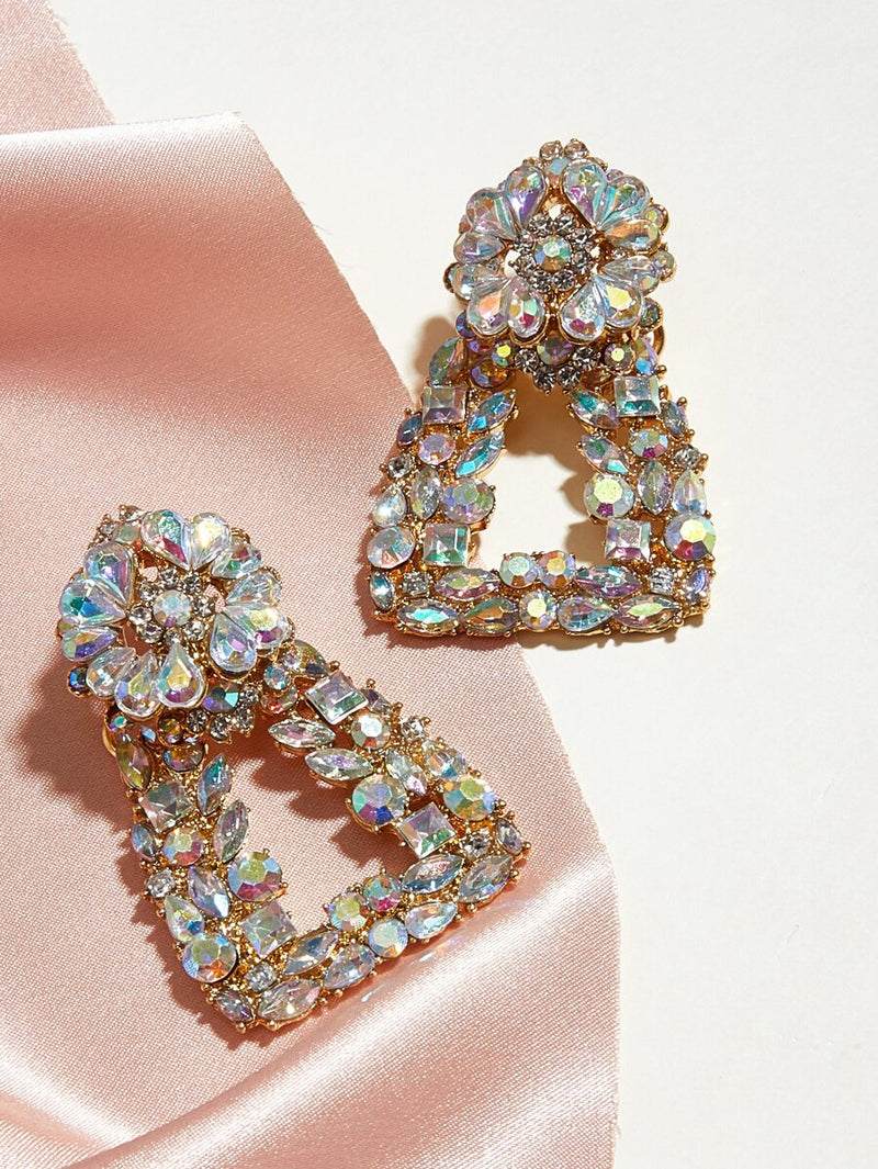 Lacey Rhinestone Earrings