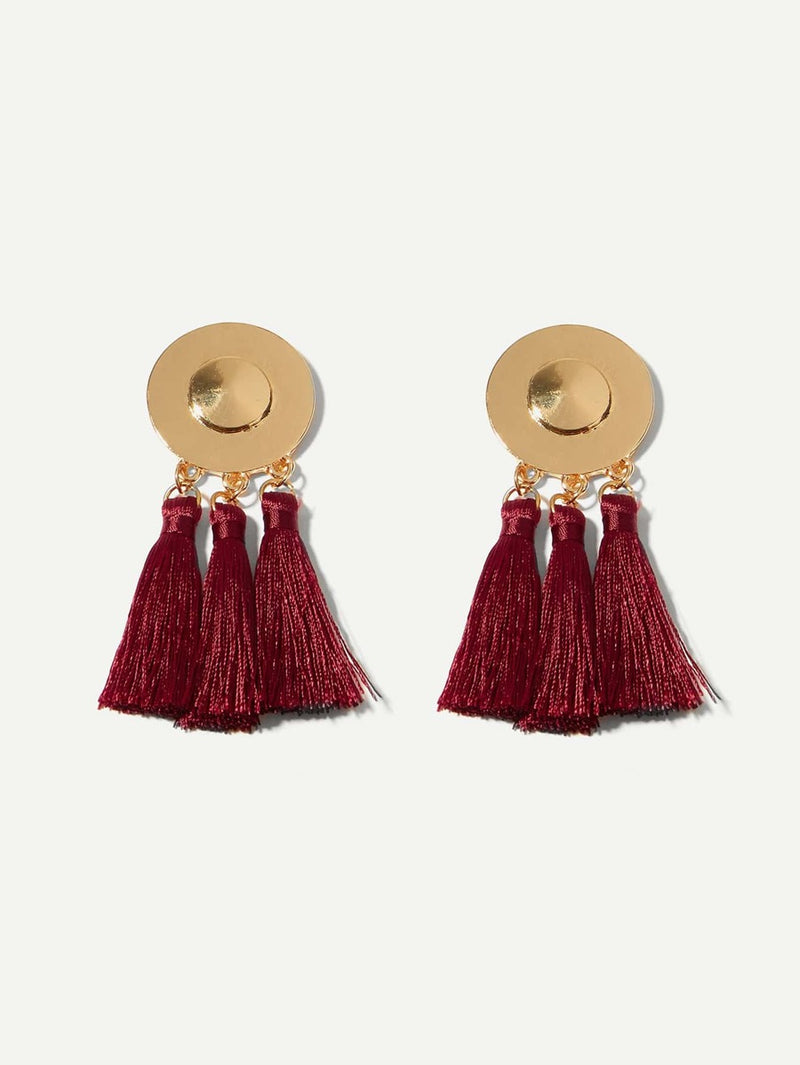 Mulan Tassel Earrings