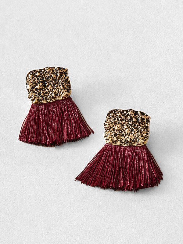 Milan Tassel Earrings