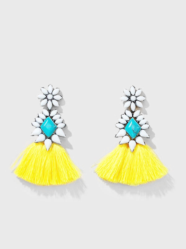Bahama Babe Tassel Earrings