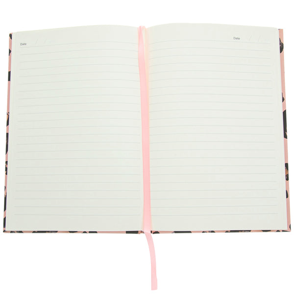 Pink Leopard Notebook