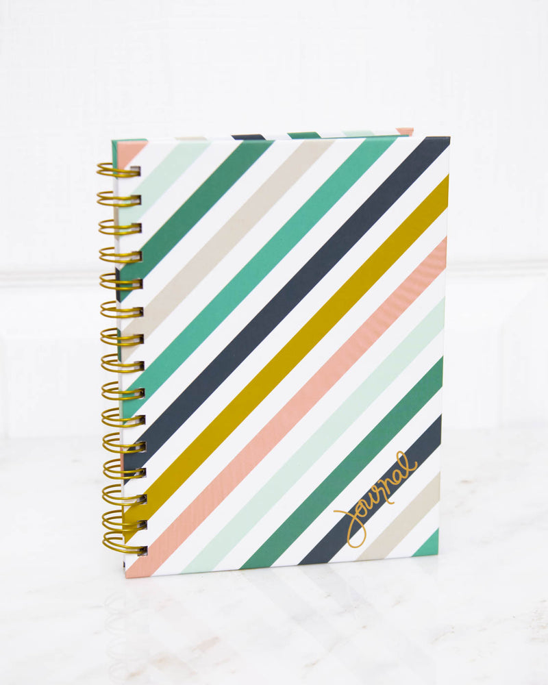 Notes Striped Journal