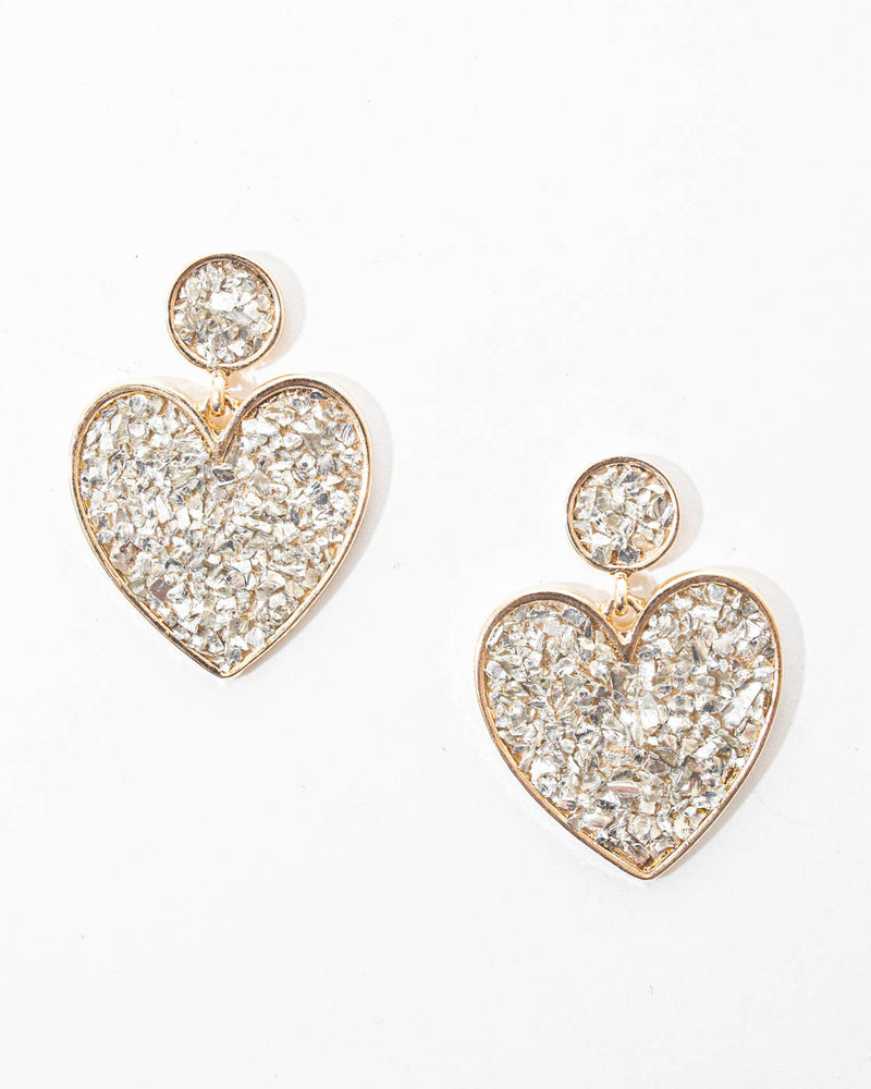 Do U Heart Me Drop Earrings