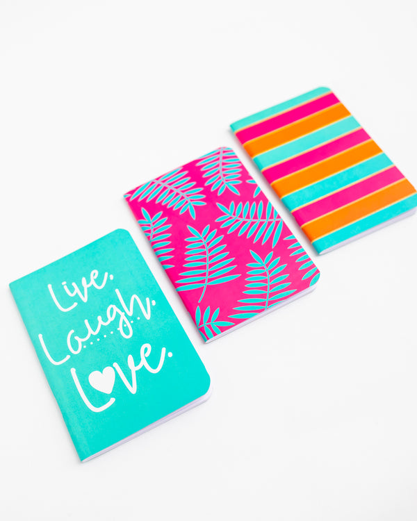 Live Laugh Love Mini Jotter Set