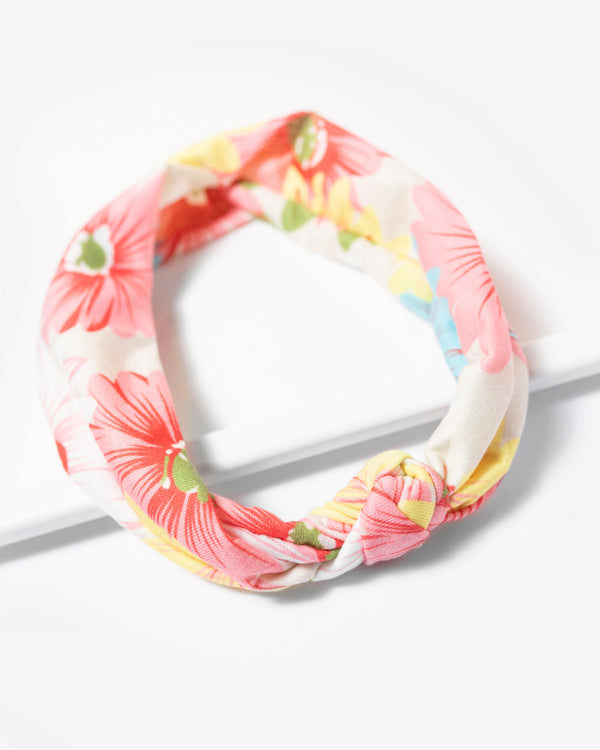 Tropical Flower Stretch Headband