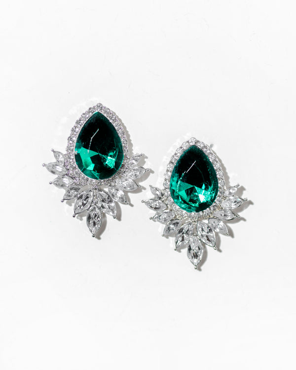 Emerald City Stud Earrings
