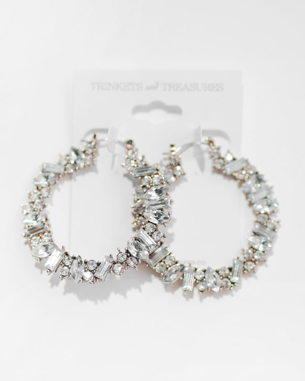 Zina Hoop Earrings
