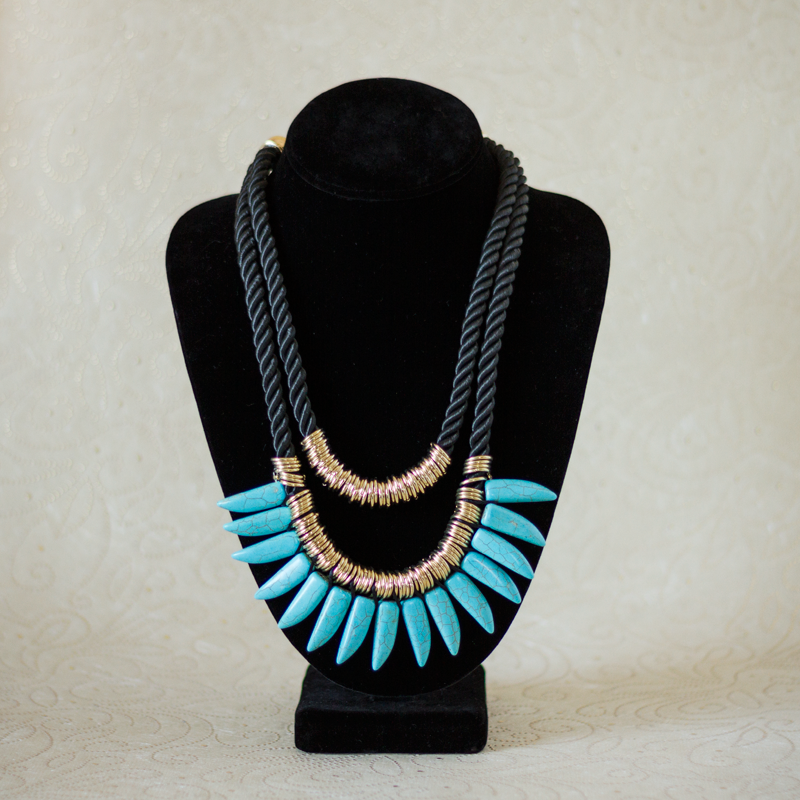 Turquoise Bedrock Necklace
