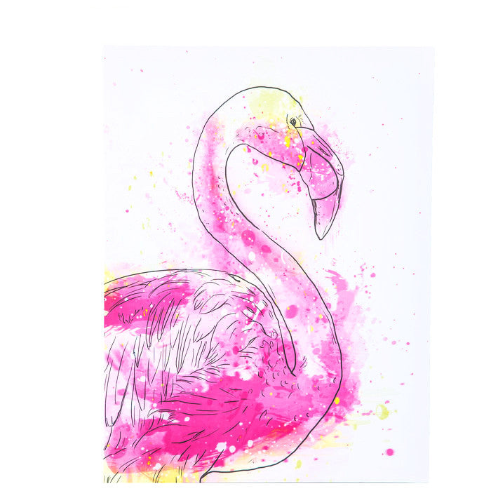Flamingo Canvas Art