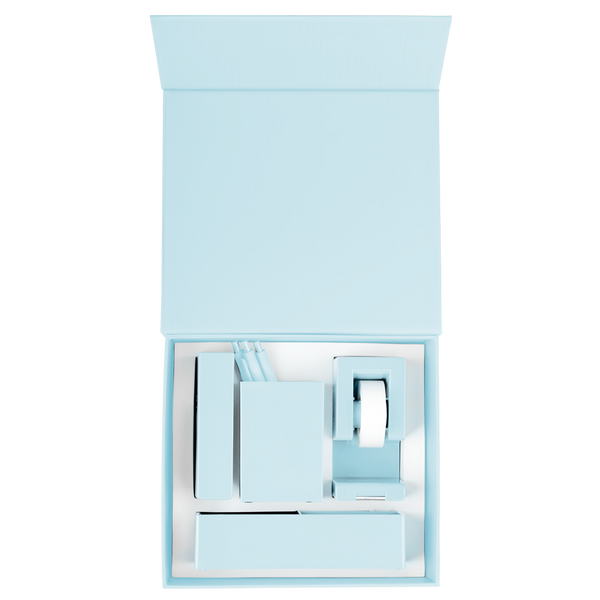 Powder Blue Desk Kit