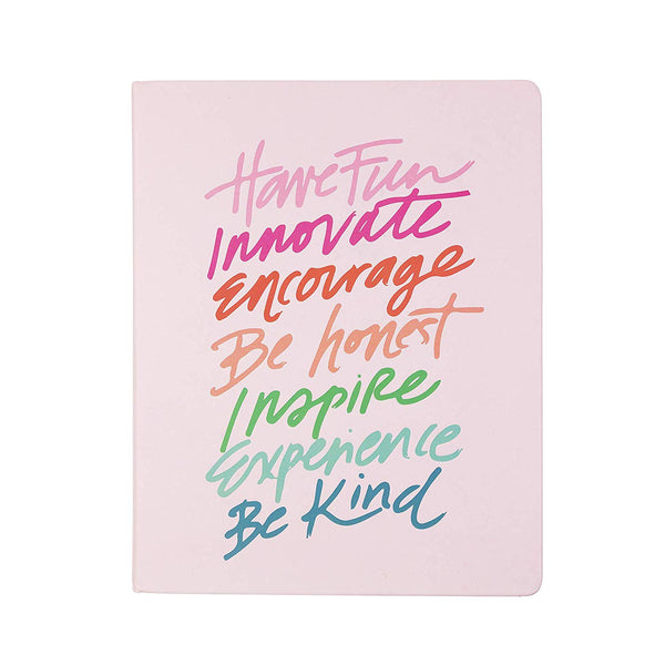 Have Fun, Be Kind Desk Journal