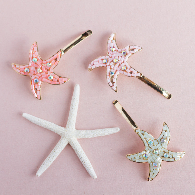 Starfish Hair Clip (More Colors)