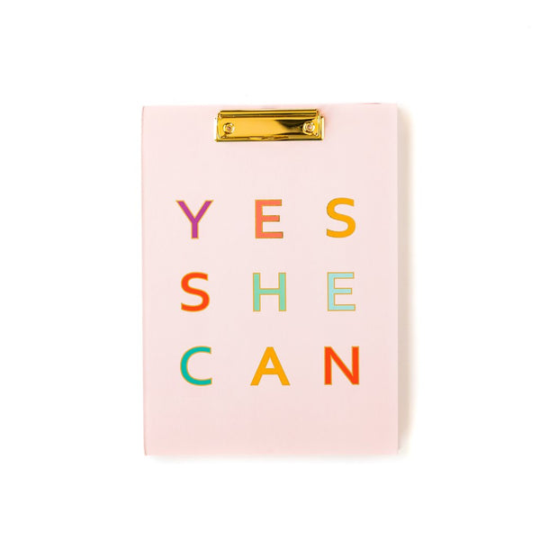 YES SHE CAN PADFOLIO