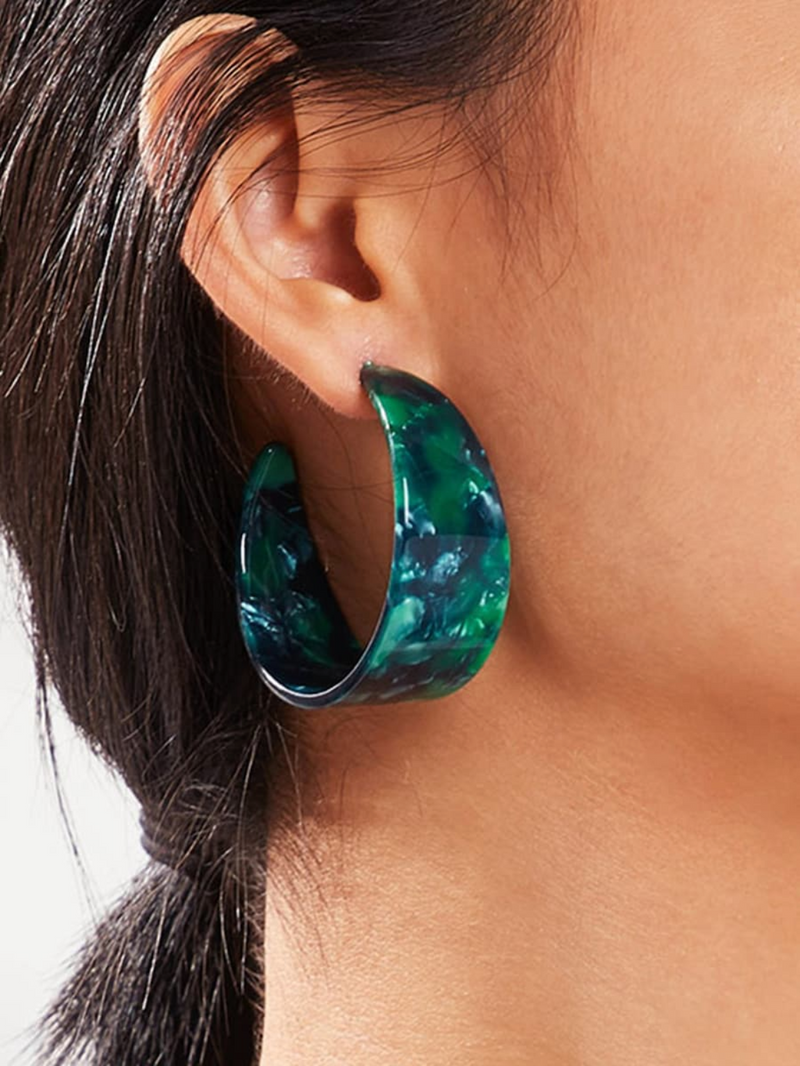 Deun Hoop Earrings