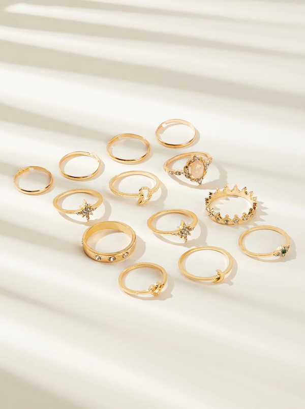 Amelia 13pc Ring Set