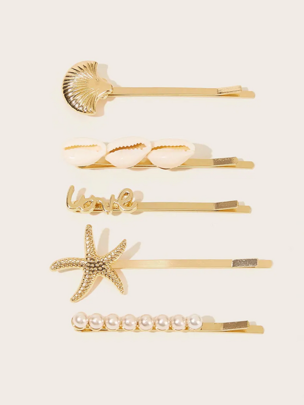 Sea Love Hair Pin Set