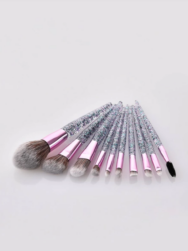 Glitterati Makeup Brush Set