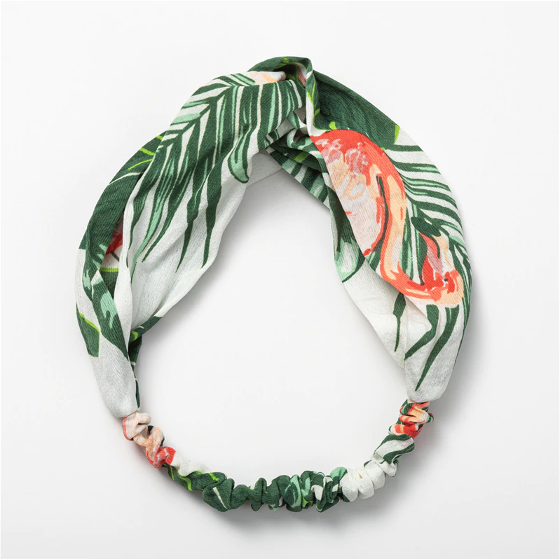 Tropical Flamingo Headband