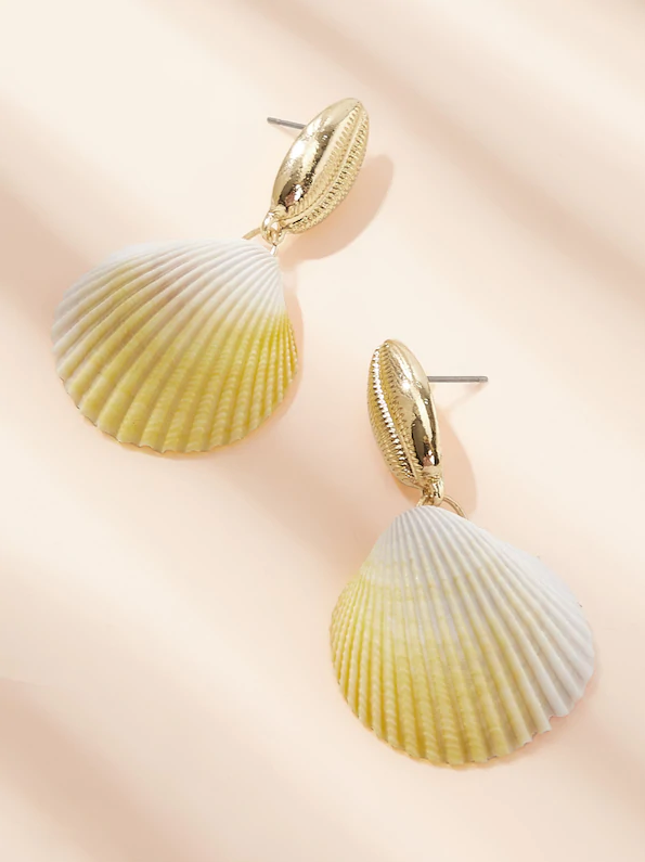 Jessi Shell Earrings