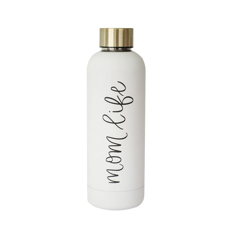 Mom Life Stainless Steel Water Bottle