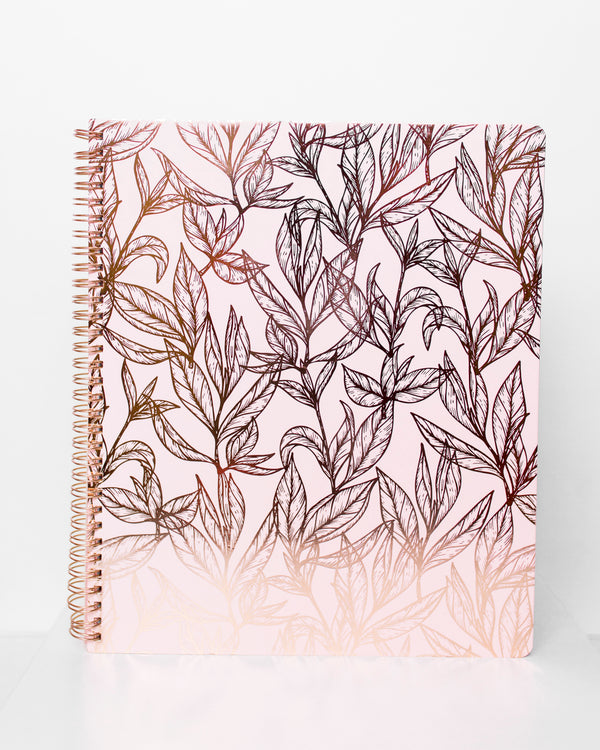 Blush Spiral Bound Journal