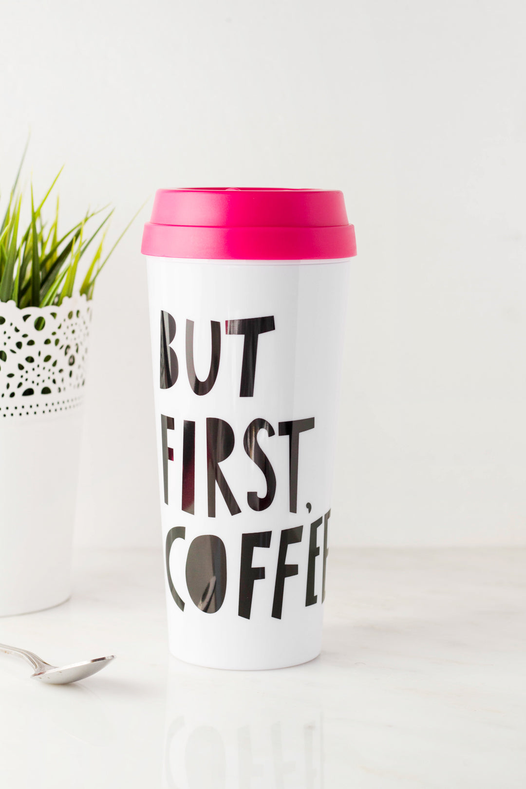 Coffee First Thermal Mug
