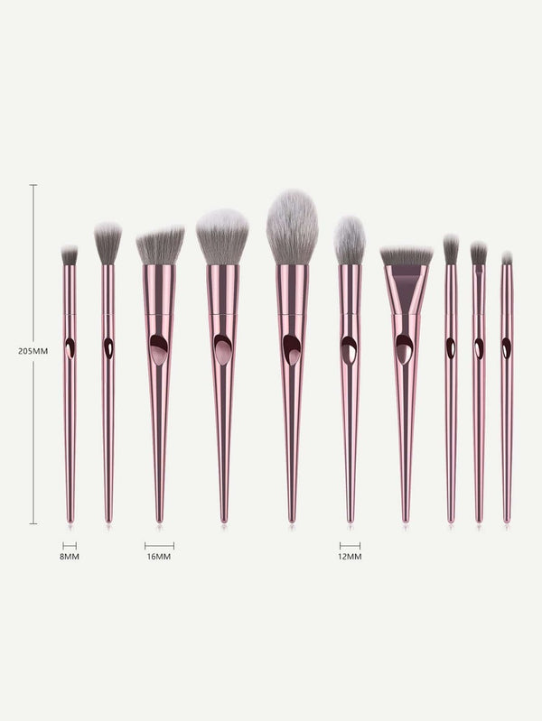 Soft Glam Makeup Brush Set