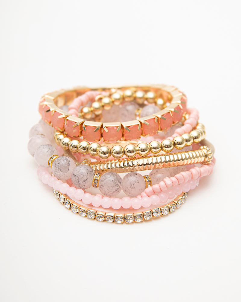 CHRISTA 8PC BRACELET SET