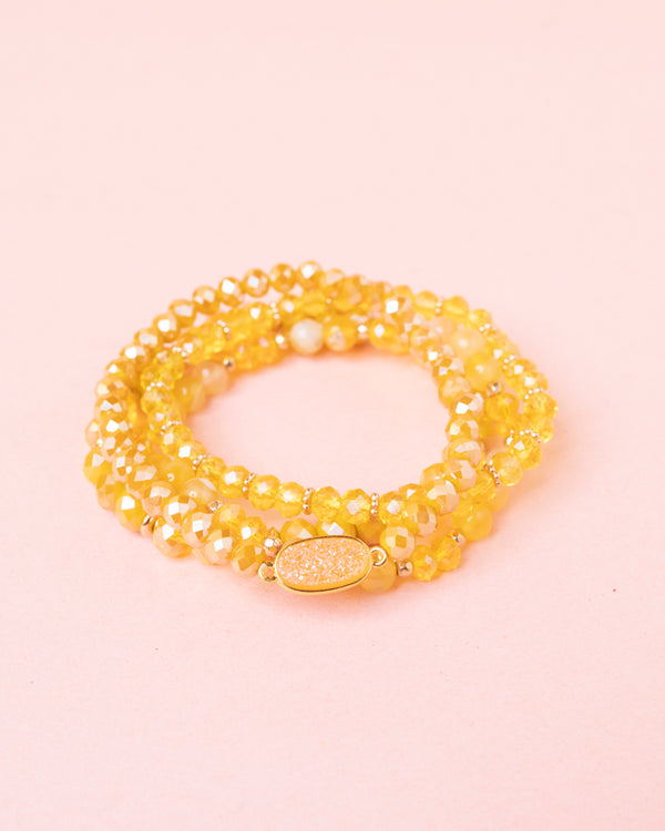 Crystal Bracelet Set