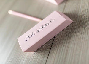 No Mistakes Jumbo Eraser