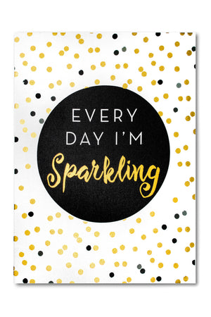 Sparkling Canvas Wall Decor