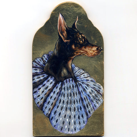 Dog Ornament Study by John Appleton