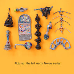 Watts Towers by Janna van Hasselt
