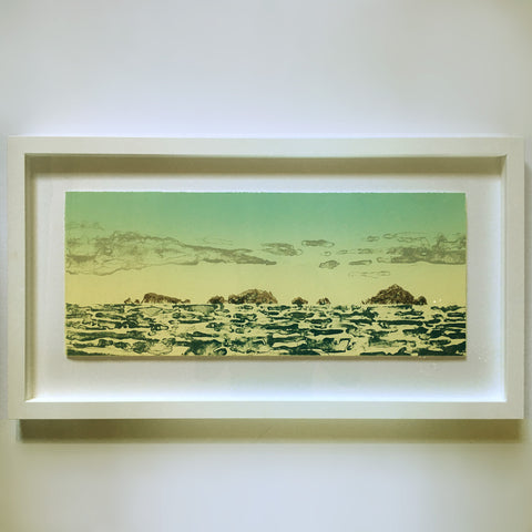 Alderman Islands (framed) by Kylie Rusk