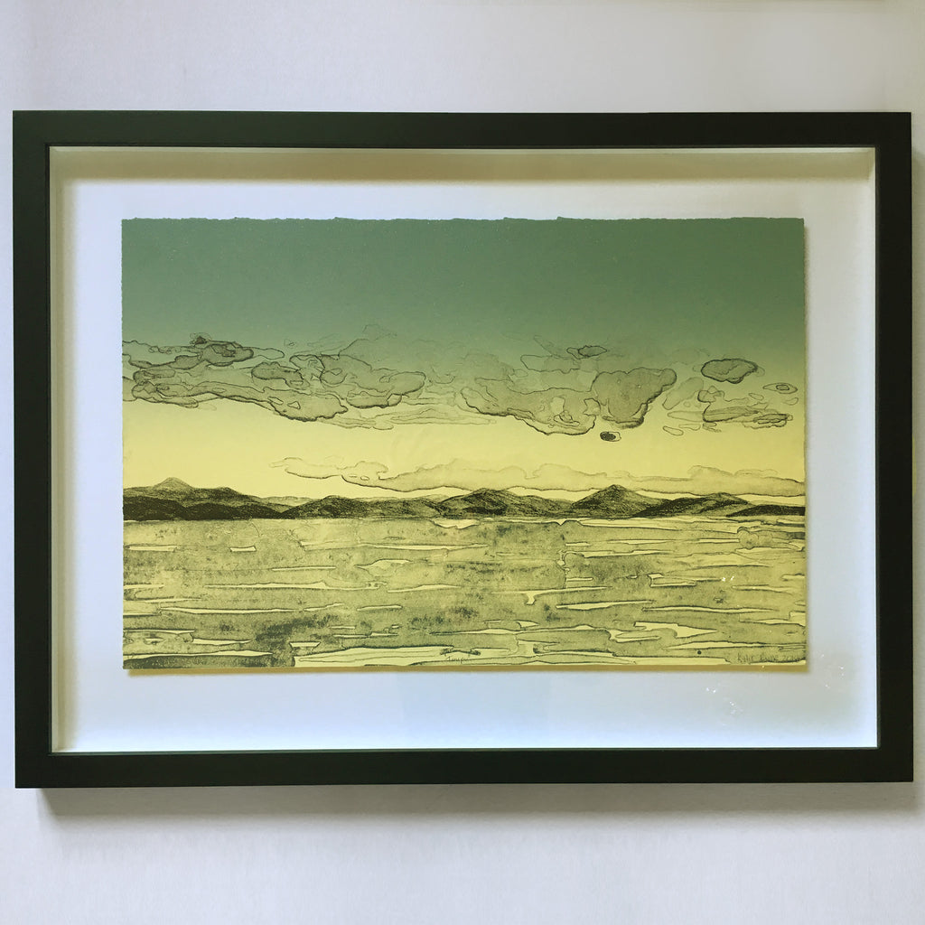 Taupo (framed) by Kylie Rusk
