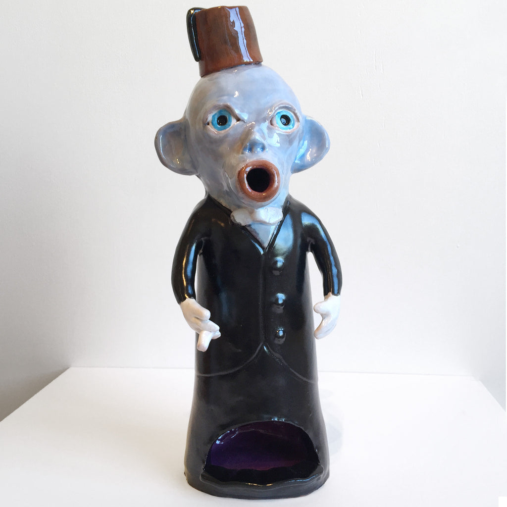 Smoking Monkey ashtray by Mark Rayner