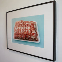 Candy Meat (framed) by Natasha Cantwell